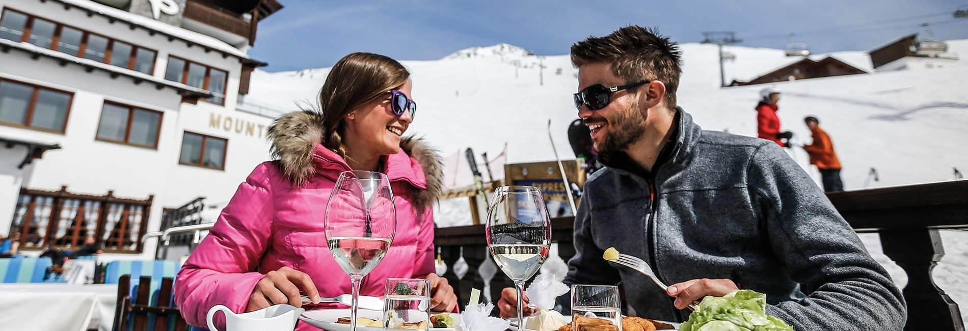 Hüttengaudi Skigebiet Obergurgl Hochgurgl TOP Hotel Hochgurgl Ötztal Tirol