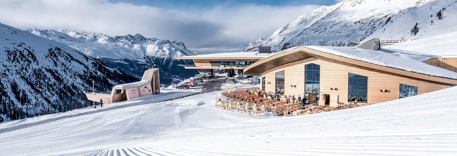 TOP Mountain Crosspoint Gastronomie im Skigebiet Obergurgl Hochgurgl Sölden