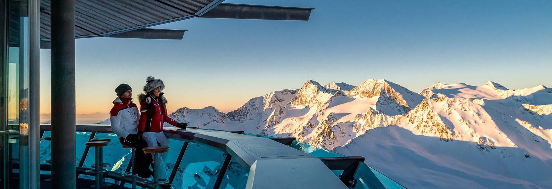 TOP Mountain Star Gastronomie im Skigebiet Obergurgl Hochgurgl Sölden