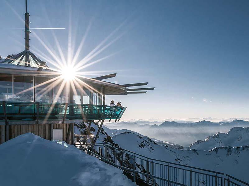 TOP Mountain Star Skigebiet Obergurgl Hochgurgl Sölden Gastronomie und Hüttengaudi
