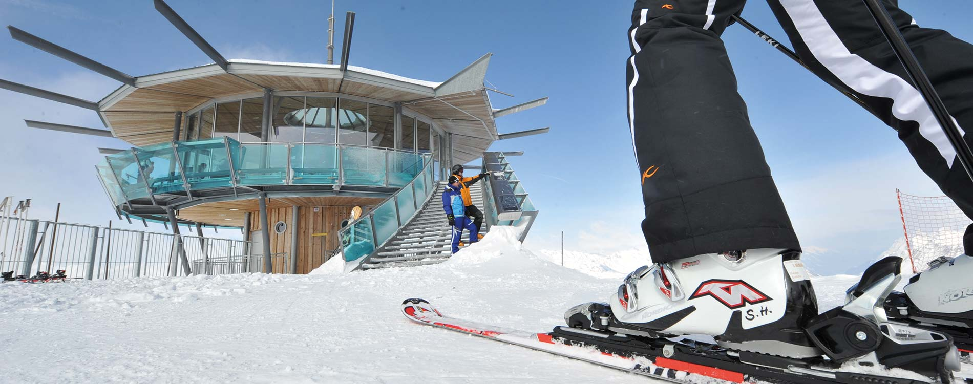 Schneesicherheit im Skigebiet Obergurgl Hochgurgl und Sölden im Ötztal Tirol