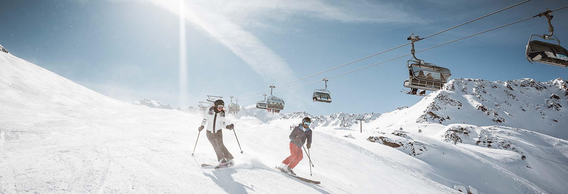 Skirurlaub im Skigebiet Obergurgl Hochgurgl Ötztal Tirol Austria