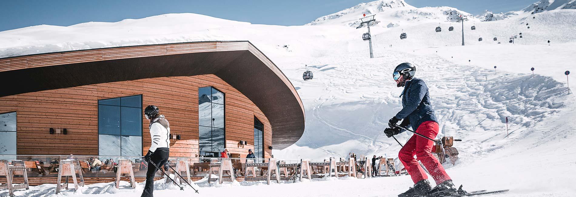 TOP Mountain Crosspoint im Skigebiet Obergurgl Hochgurgl Ötztal Tirol Austria